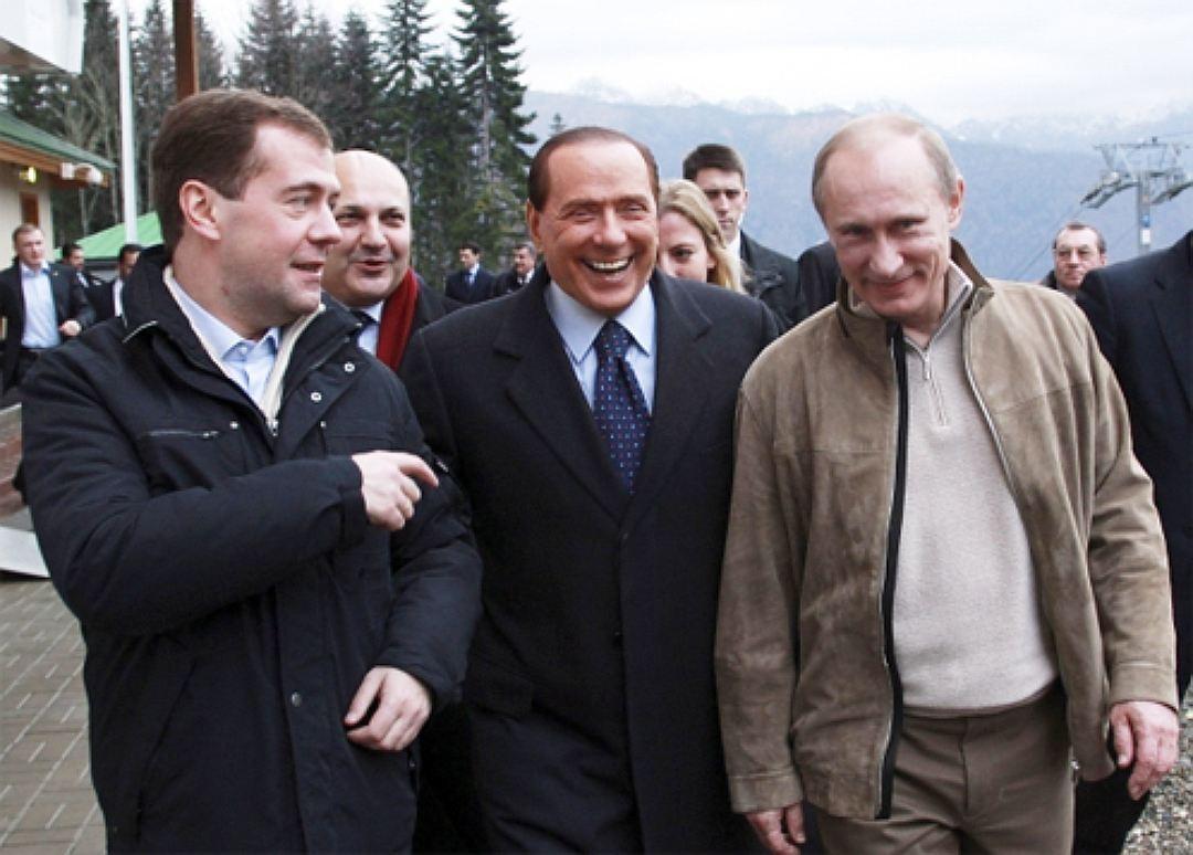 091 - Берлускони и Путин