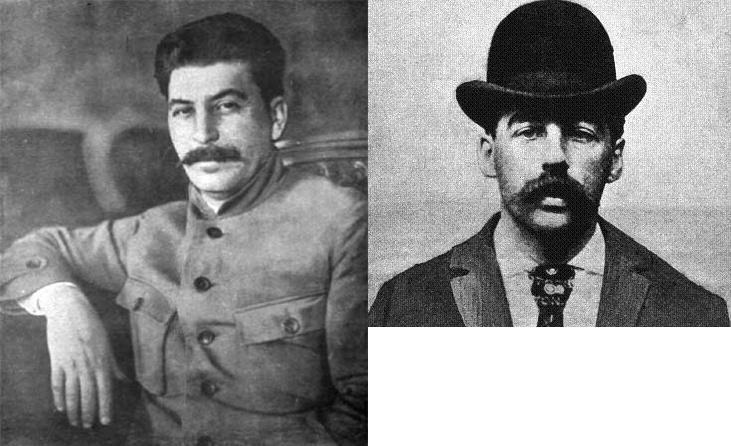 Иосиф Сталин и Генри Говард Холмс