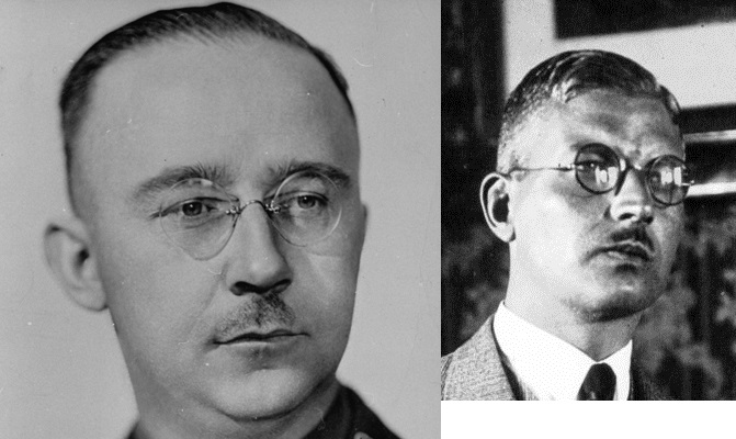 Гиммлер и Шушниг