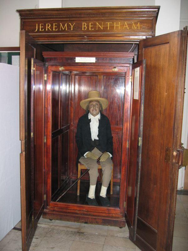 Auto-Icon of Jeremy Bentham