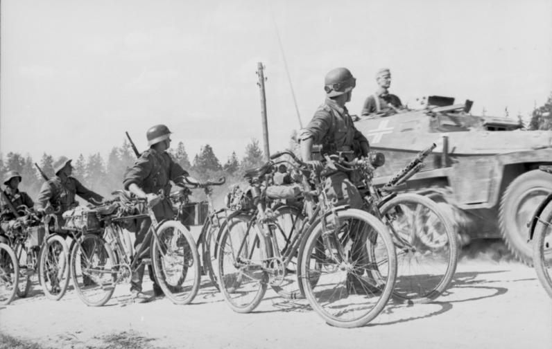 велосипедные войска 2