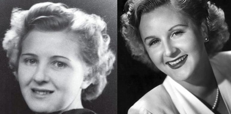 Ева Браун и Маргарет Уайтинг