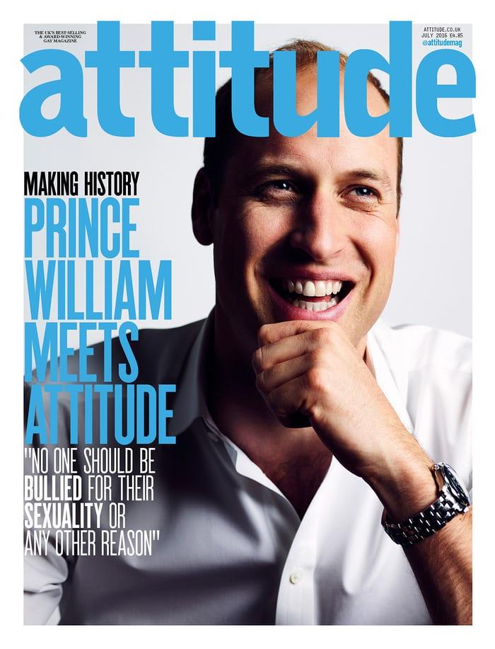 048 - принц Уильям на обложке