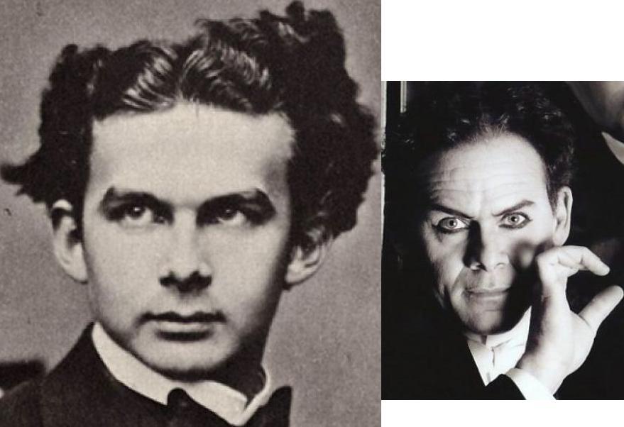 Людвиг II и Гарри Гудини
