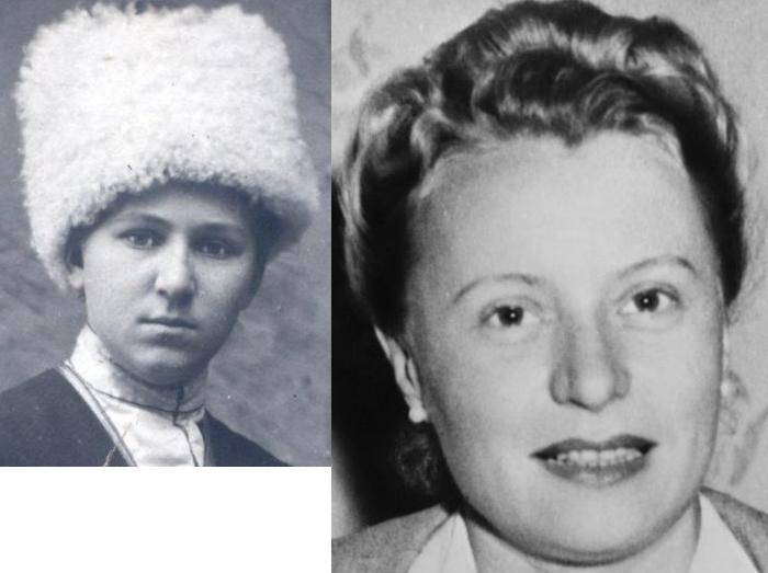 Нечволодова и Эрна Грюн