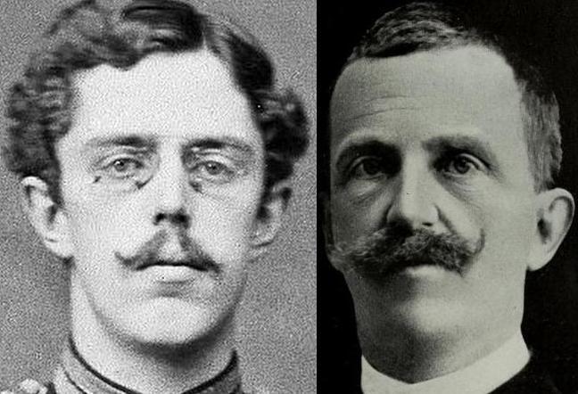 Густав V и Виктор Эммануил III 1