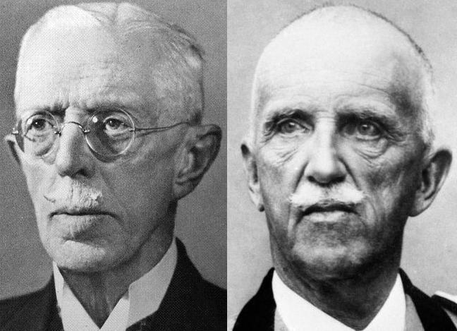 Густав V и Виктор Эммануил III 2