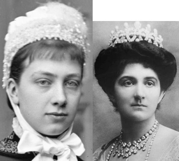 Виктория Баденская и Елена Черногорская 1