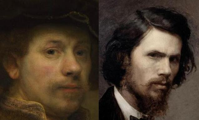 Рембрандт и Крамской 1