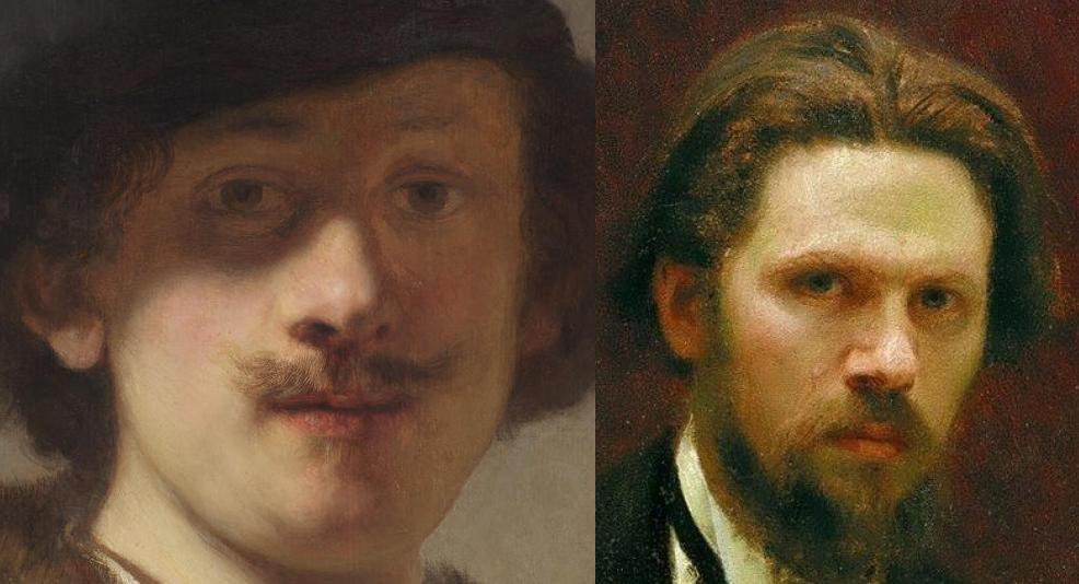 Рембрандт и Крамской 2