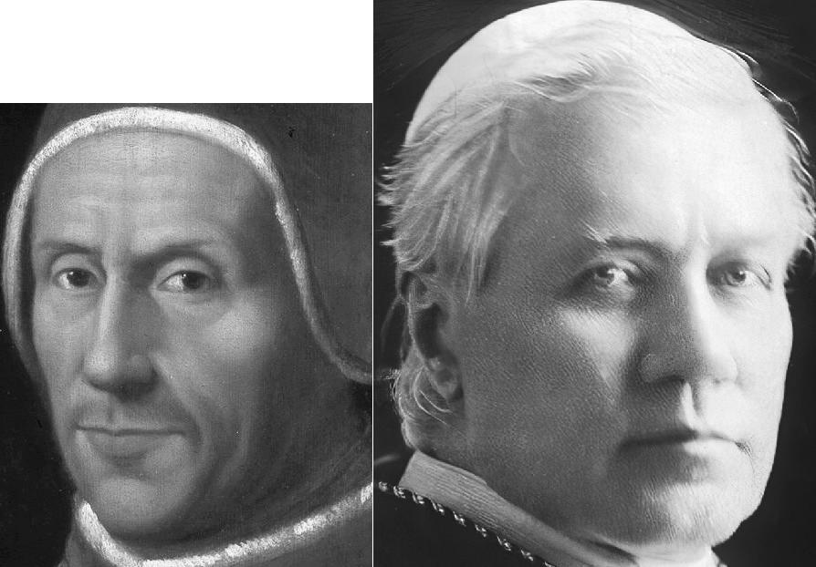 Адриан VI и Пий X