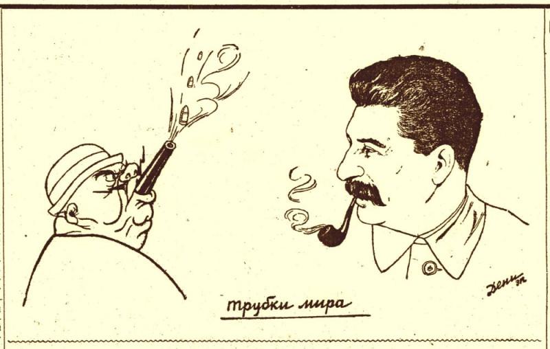 17.04.1935. Из истории советской карикатуры