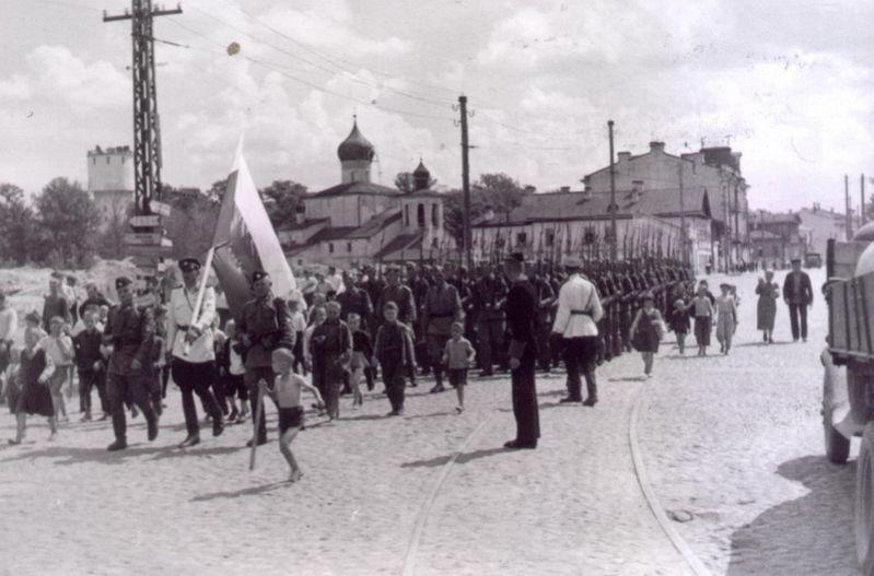 9 июля 1941. Псков под оккупацией