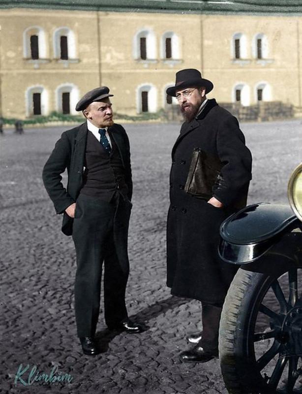 Сто лет назад. Глядя на фотографию Ленина
