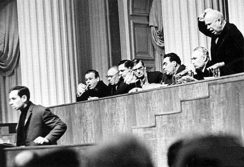 Никита Хрущёв и князь Голицын