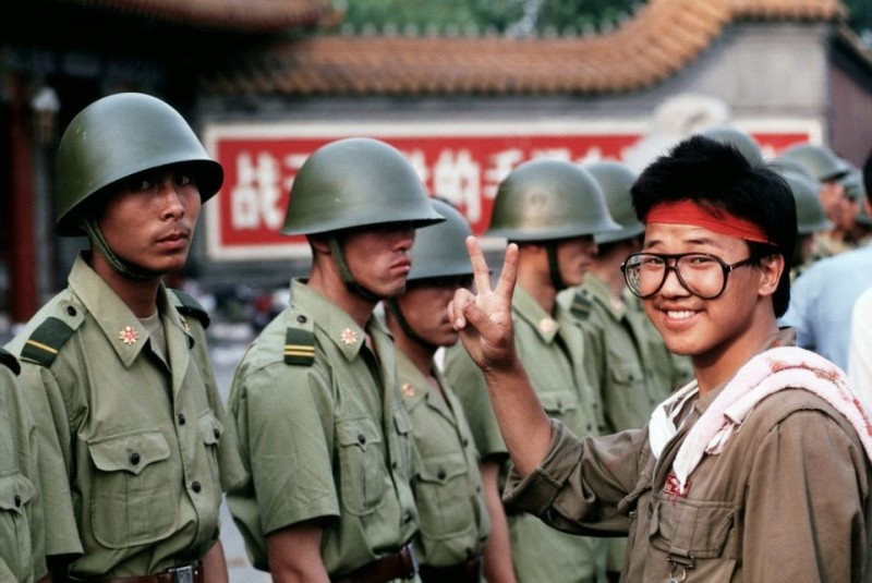 30 лет назад. Тяньаньмэнь
