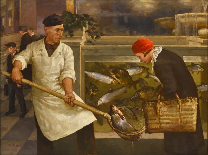 СССР как царство полных прилавков (3). Живая рыба