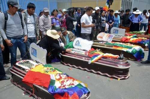 Правый террор в Боливии