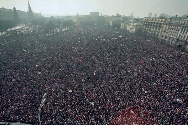 День в истории. 1 мая 1993 года в Москве