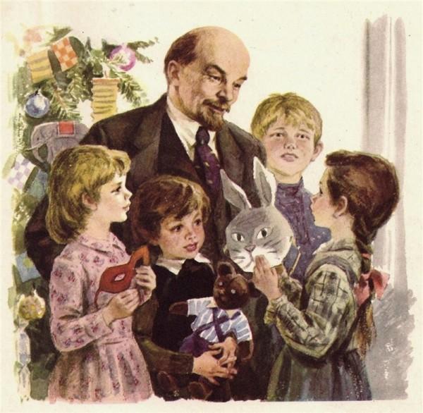 Николай Жуков. Ленин и дети