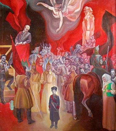 100 лет назад. Ленин, Стенька Разин и княжна