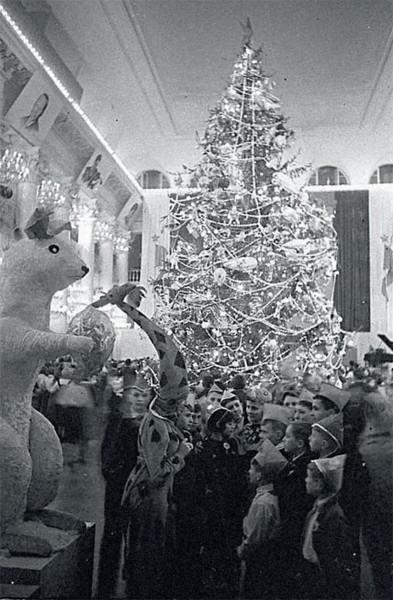 011elka_1941. Колонный зал Дома союзов