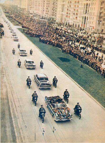 60 лет назад. Встреча Юрия Гагарина