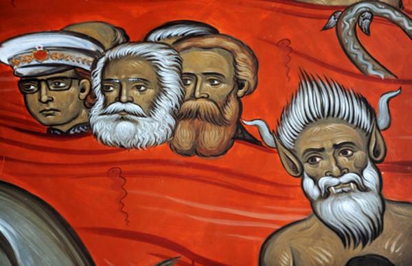 День в истории. Маркс в иконописи, карикатуре и везде :)