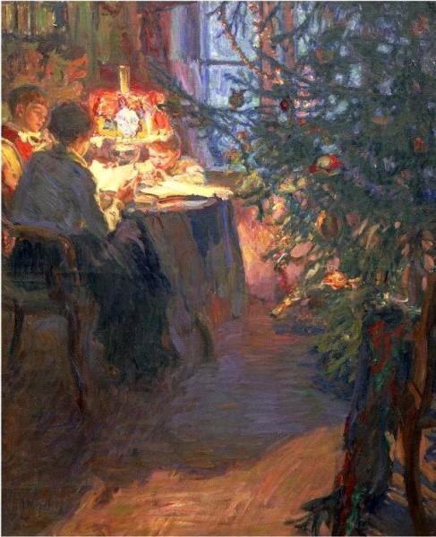 Александр Моравов. Рождественская ёлка 1921