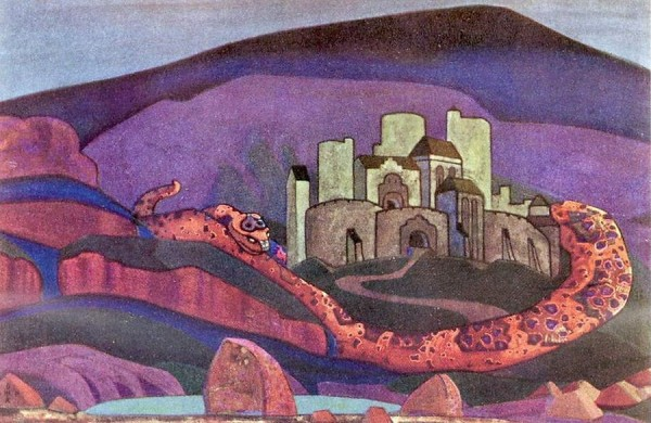 По словам Бориса Стругацкого, именно эта картина Рериха вдохновила писателей на создание романа