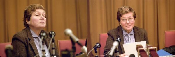 Светлана Аллилуева 1984 год. Фото Игоря Зотина и Валентина Мастюкова фотохроника ТАСС