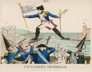 100dnei5 Карикатура на побег Наполеона с острова Эльба.jpg