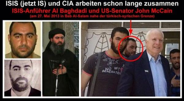 Картинки по запросу маккейн с лидером халифата