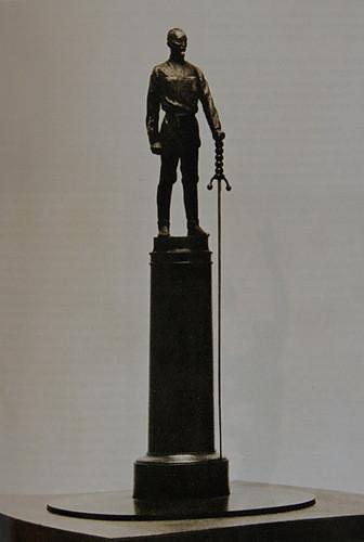Вера Мухина. Проект памятника Ф. Э. Дзержинскому (1939-40 гг., для Лубянской площади)