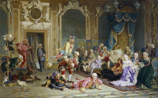 Валерий Якоби. Шуты в спальне Анны Иоанновны. 1872 г.
