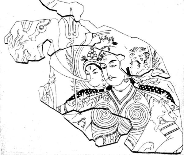 четырехрукая богиня из хотана.jpg