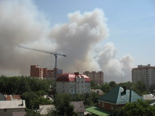 Воронеж в огненном кольце