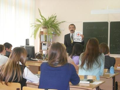 Урок Миротворчества в школе 27 (Чебоксары) 12.10.2012