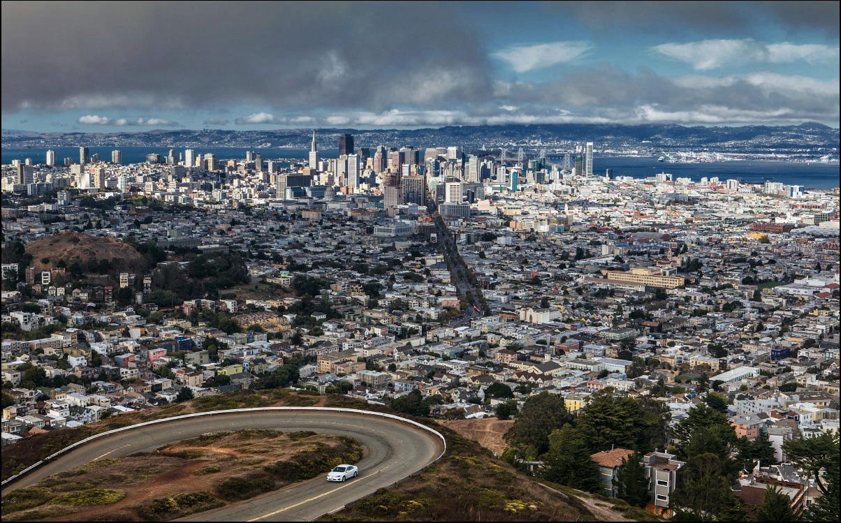 Панорама Сан Францисок