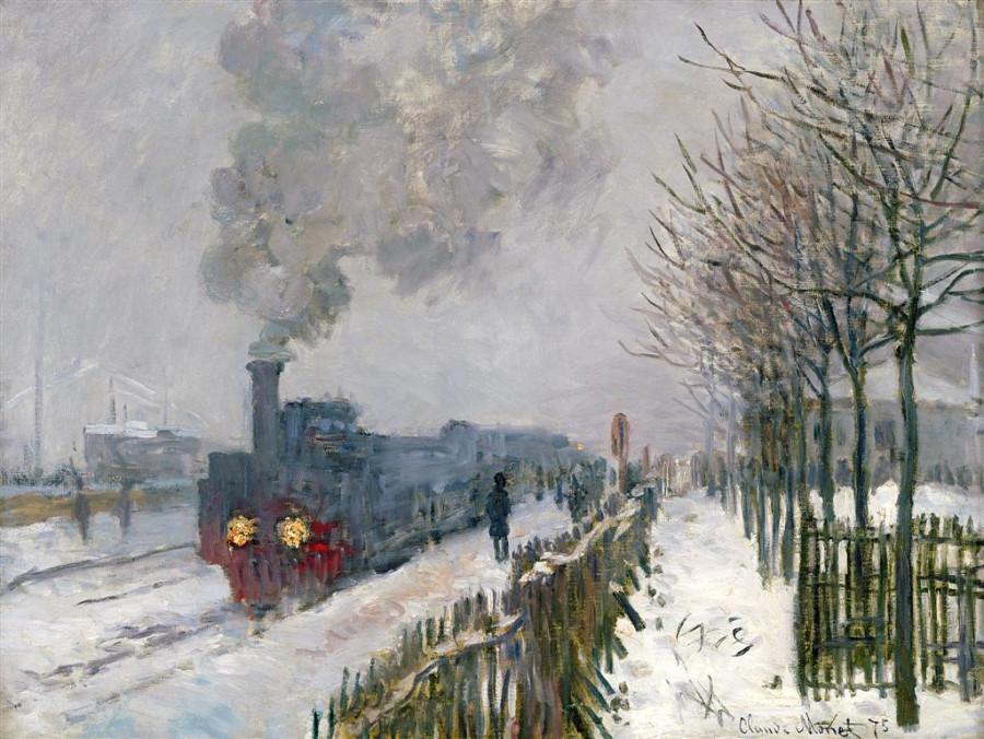 Monet-le-Train-dans-la-neige