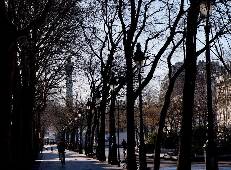 площадь Бастилии от метро richard lenoir izm