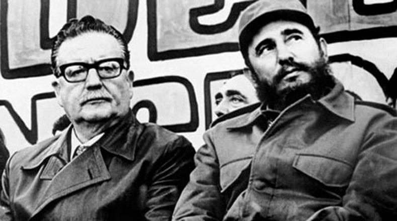 Альенде и Кастро