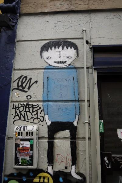 то же знакомый по Берлину персонаж