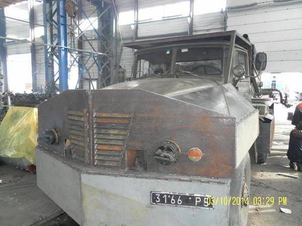 Ukrainian Army Gun Trucks & technical trucks