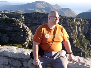 Big Shaun on Table Mountain