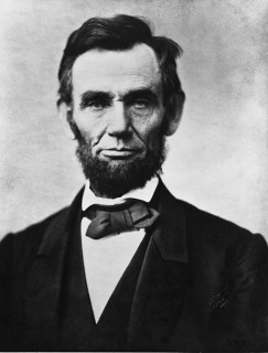 http://en.wikipedia.org/wiki/File:Abraham_Lincoln_head_on_shoulders_photo_portrait.jpg
