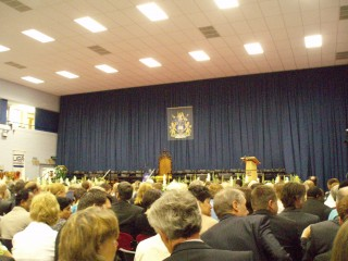 The congregation hall