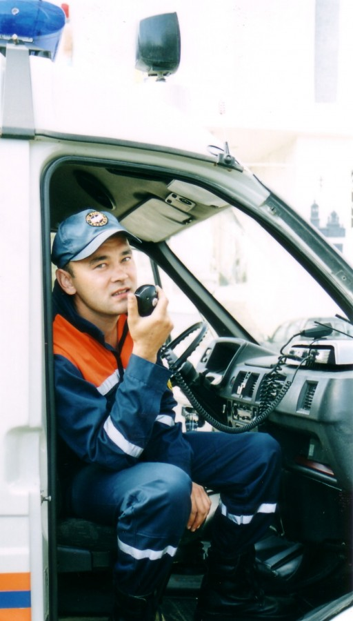 На учебном полигоне практической подготовки спасателей и пожарных учебно-методического центра го и чс москвы