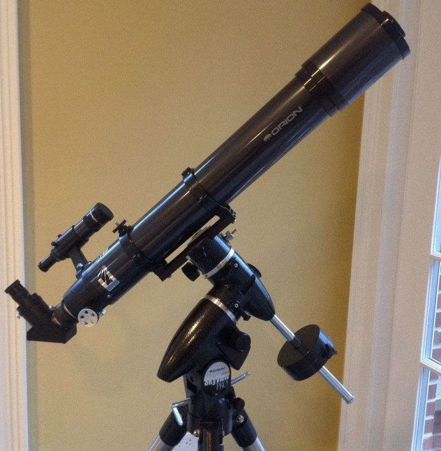 my first time peering through a telescope essay Cosmic horizons case study  today they spend most of their time peering into computer screens rather than through the eyepiece of a telescope.