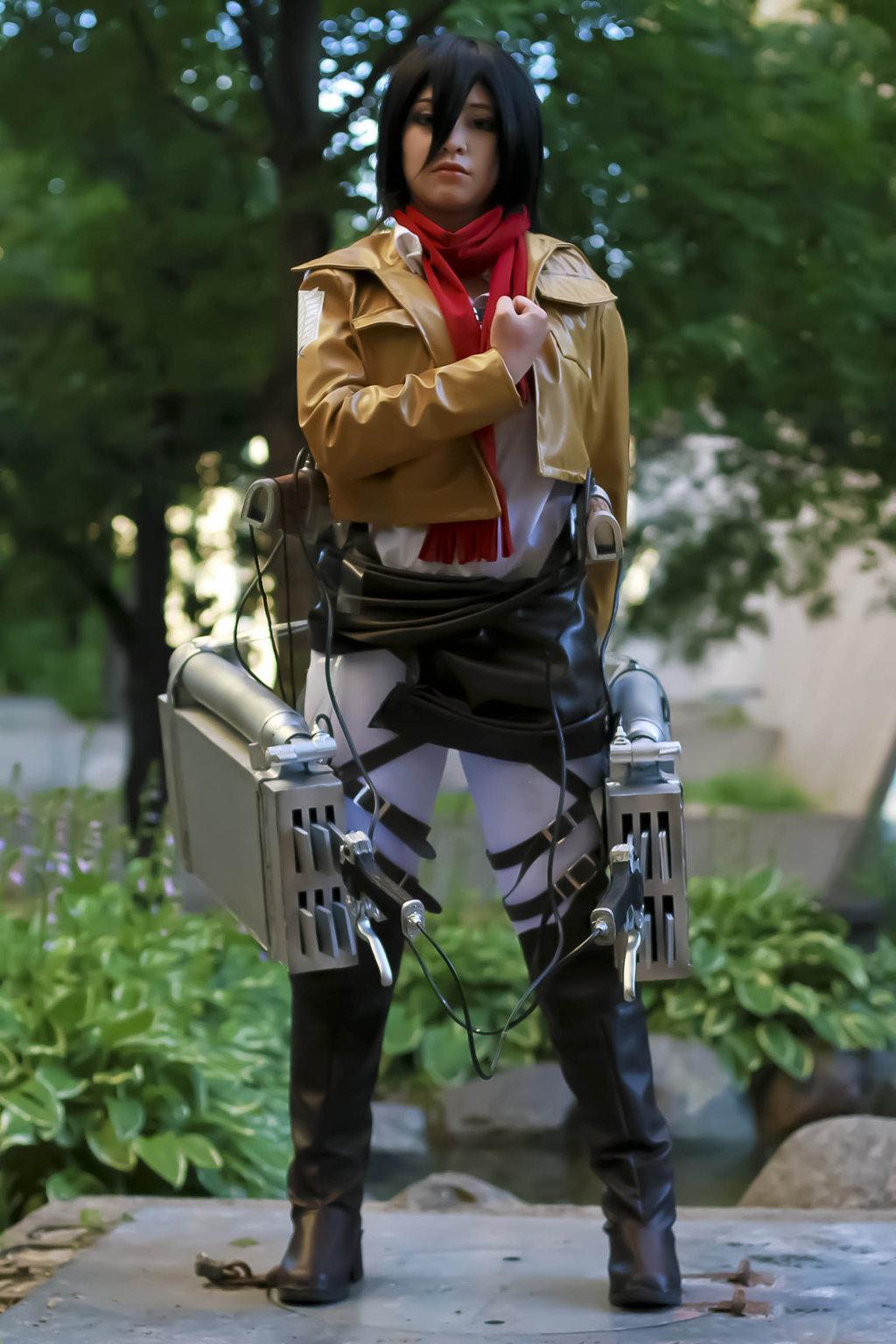 Attack on Titan Mikasa Ackerman Cosplay   Attack On Titan